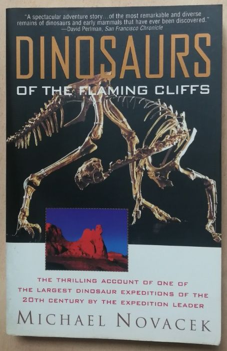dinosaurs of the flaming cliffs, michael novacek Estrela - imagem 1
