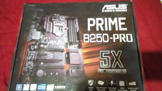 Материнская плата B250-PRO+процессор i5 7400.