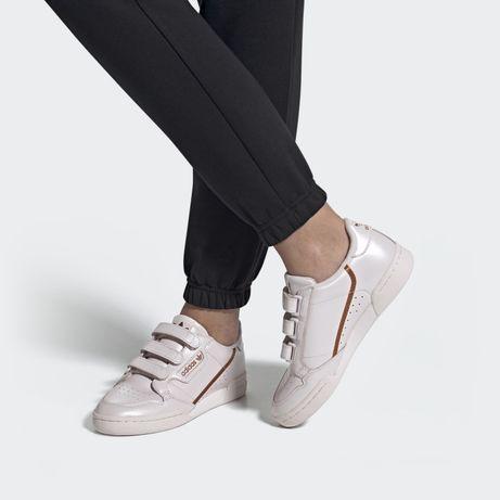 кроссовки на липучках  на дождь Adidas CONTINENTAL 80 SHOES. Оригинал