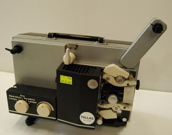 Projector de bobines PALLAS HS-1200 S-8 Zoom