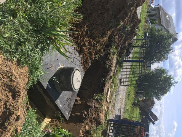 Zbiorniki betonowe/SZAMBO - tanio - kompleksowo - Wykop + montaż
