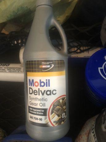 Масло трансмиссионное Mobil Delvac Synthetic Gear Oil 75W-90