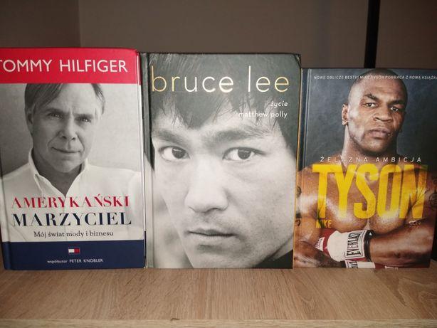 Tyson, Bruce Lee, Tommy Hilfiger. 3 BIOGRAFIE twarde oprawy