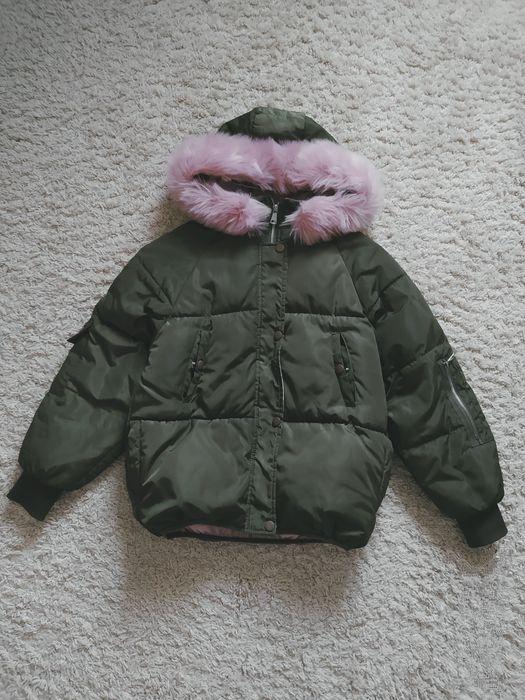 Ультрамодний пуффер пуховик дута куртка зефірка хакі Portland Academy Новояворовск - изображение 1