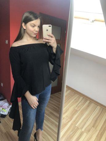 Bluzka damska hiszpanka czarna S