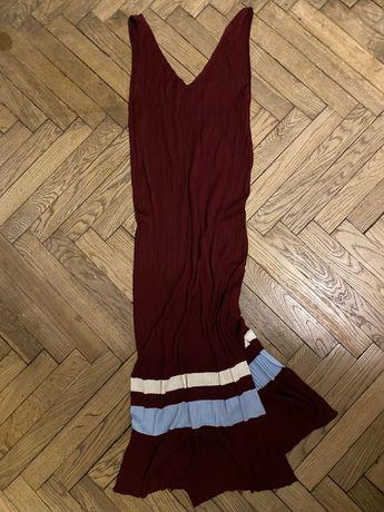 В'язане плаття міді hm