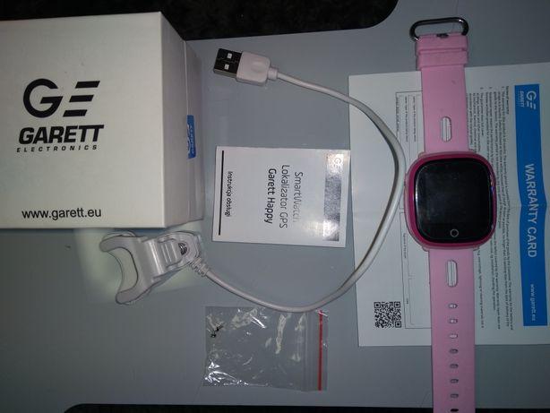 Smartwatch zegarek Kids Happy różowy. Stan idealny. Jak nowy.