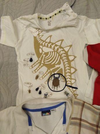 bluzka T-shirt polo krótki rękaw 86-92 cool club świecąca w ciemności