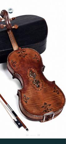 Josephus Perr  Geigen 1817 скрипка майстрова iнкрустована!