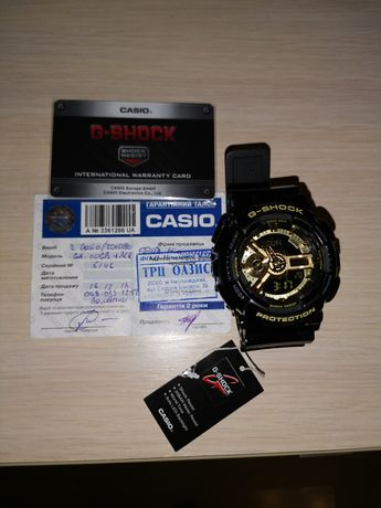 Продам Casio G-SHOCK GA-110GB-1AER