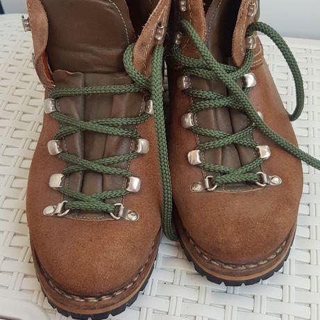Кожаные ботинки полусапоги Suola Vibram