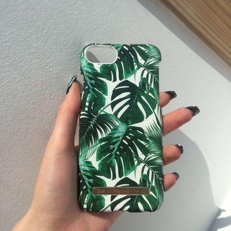 Ideal Of Sweden case obudowa etui zielona biala w liscie iphone
