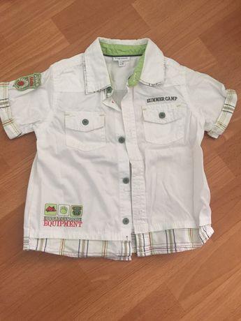Рубашка на мальчика на 2 года