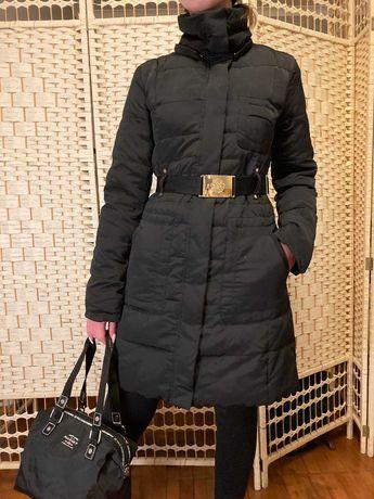 Стильное пальто, пуховик ( пух/ перо) MANGO р.XS