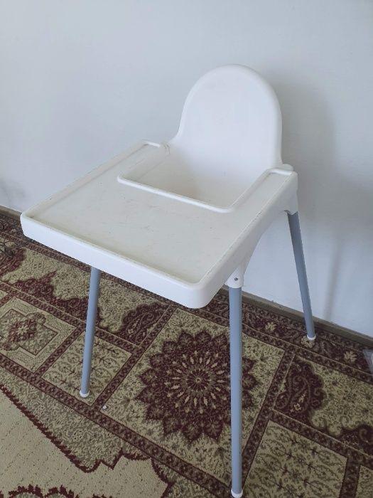 Детский стульчик для кормления Икеа Ikea Antilop Желтые Воды - изображение 1