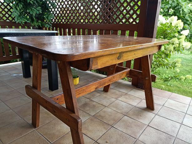 Stół drewniany sosnowy