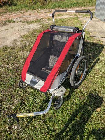 Przyczepka rowerowa / riksza Thule Chariot Cougar 2