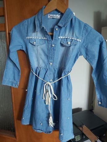 Nowa Sukienka dla dziewczynki