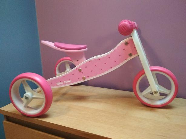 Jeździk, rowerek biegowy Jake 2w1, Milly Mally