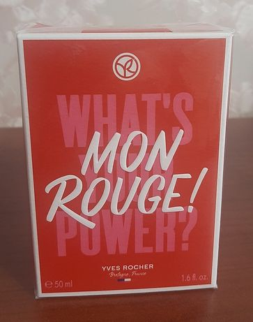 Духи Yves Rocher, Mon Rouge! Франция 50мл eau de Parfum