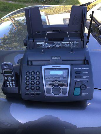 Telefon fax sekretsrka słuchawka bezprzewodowa