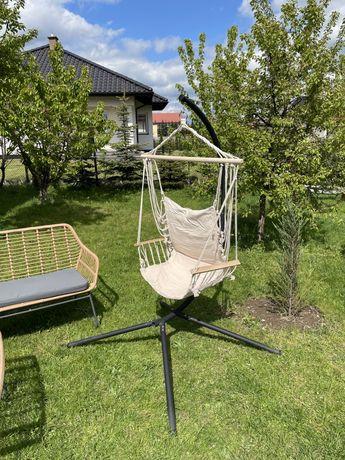 Huśtawka ogrodowa- fotel wiszący-kokon