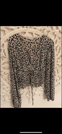 Blusa Zara com padrão