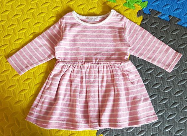 Next sukienka, tunika, bawełna 62-68 ideał