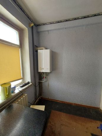 3-х комнатная квартира, с альтернативным газовым отоплением