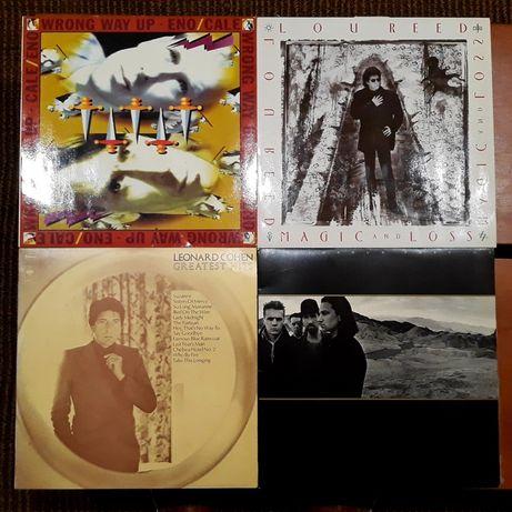 Coleção de Vinis: Lou Reed / Leonard Cohen / U2
