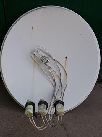 Супутникові антени (тарілки) 2шт