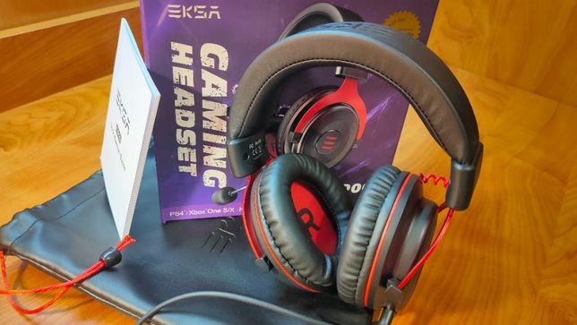 EKSA E900 Игровые наушники профессиональные проводные с микрофоном