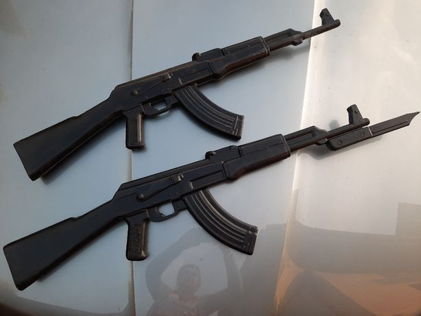 Gumowa Atrapa Karabinu AK-47