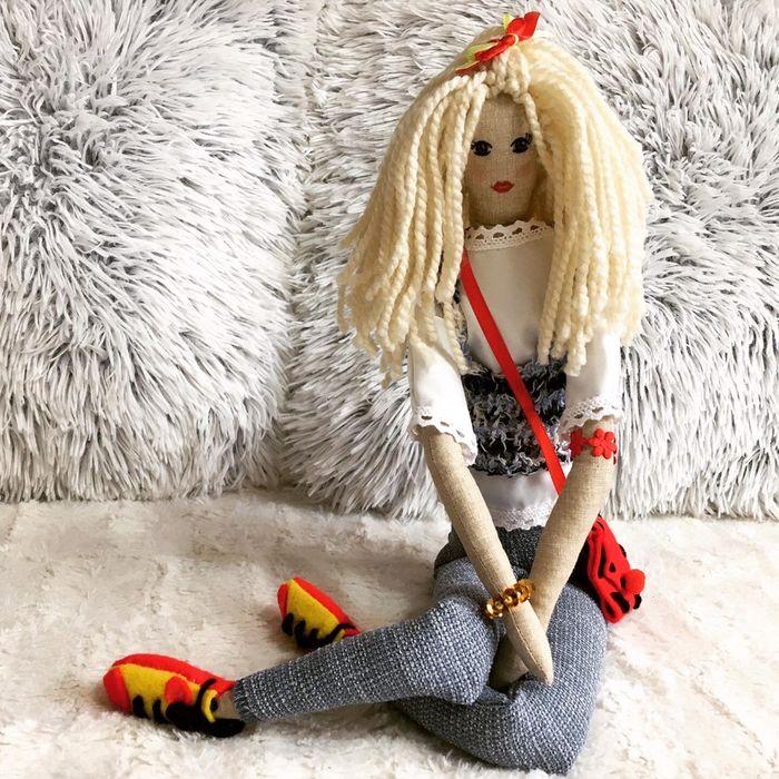 Lalka Tilda, hamdmade, rękodzieło. Lalka dla dziecka, kolekcjonerska Bielsko-Biała - image 1