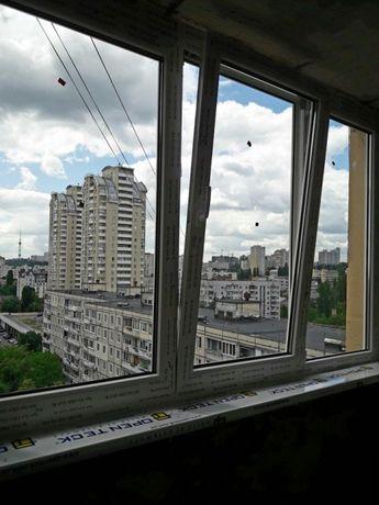 Установка окон балконов дверей,балконных блоков входных дверей.