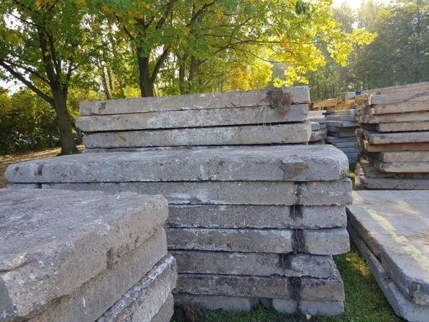 płyty betonowe drogowe WYNAJEM , Utwardzenia placów płytami MON