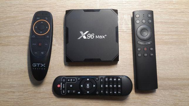 ТВ приставка X96Max+ 4/32-64 МЕГА прошивка! Настроена! Быстрая работа!