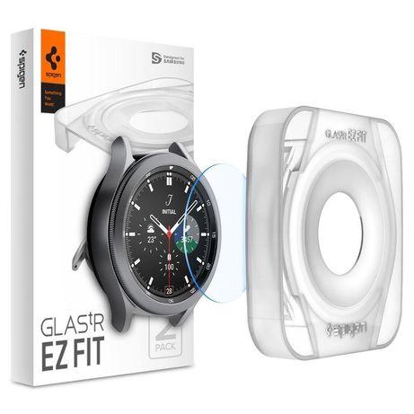 "Szkło Hartowane Spigen Glas.Tr ""Ez Fit"" 2-Pack Galaxy Watch 4 Classic 42 Mm"