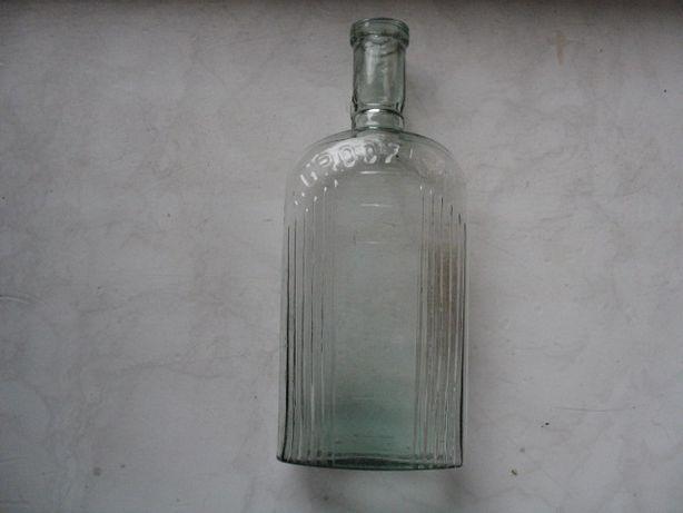 GRODZISK-stara oryginalna butelka od lekarstwa-pojemność 200 ml