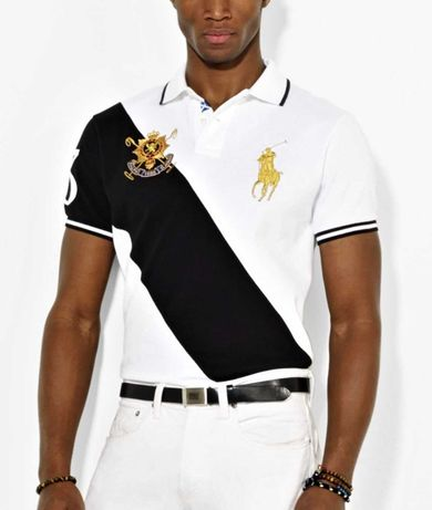 Ralph Lauren Polo Koszulka armani calvin duży koń Ponny MEGA UNIKAT