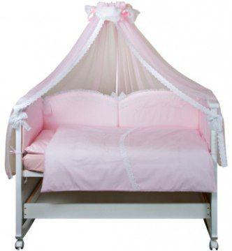 Набор в кроватку для девочки