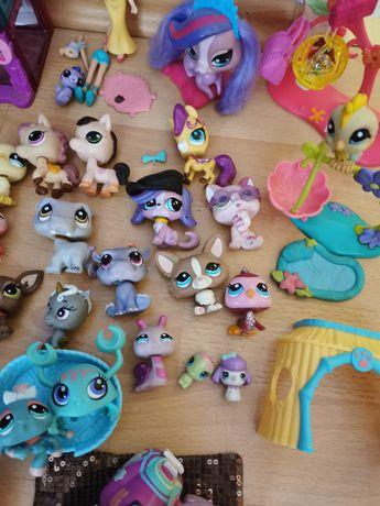 Zestaw PetShop zabawki