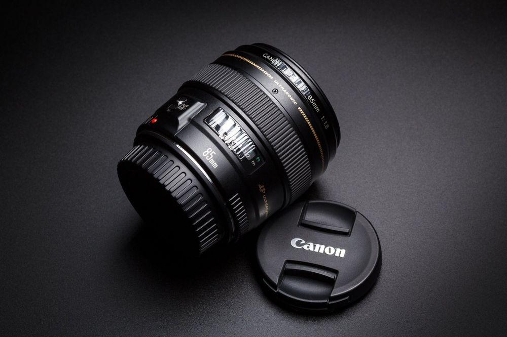 Canon 85mm 1.8 b.dobry Stan Strojec - image 1