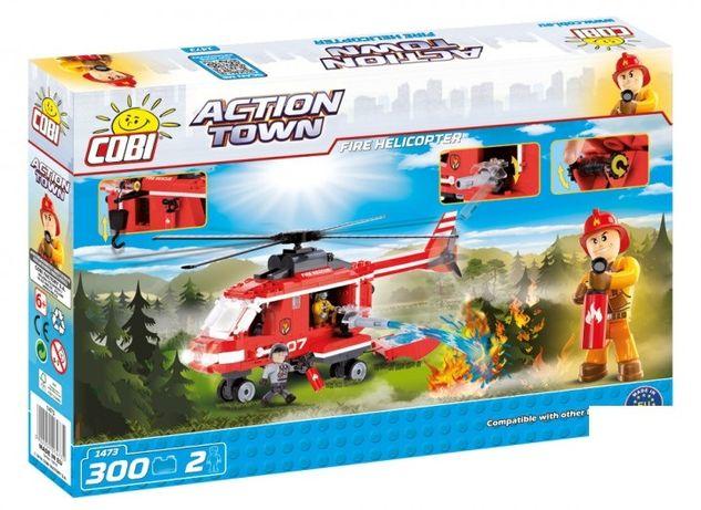 Конструктор Cobi Пожарный вертолет 300 деталей