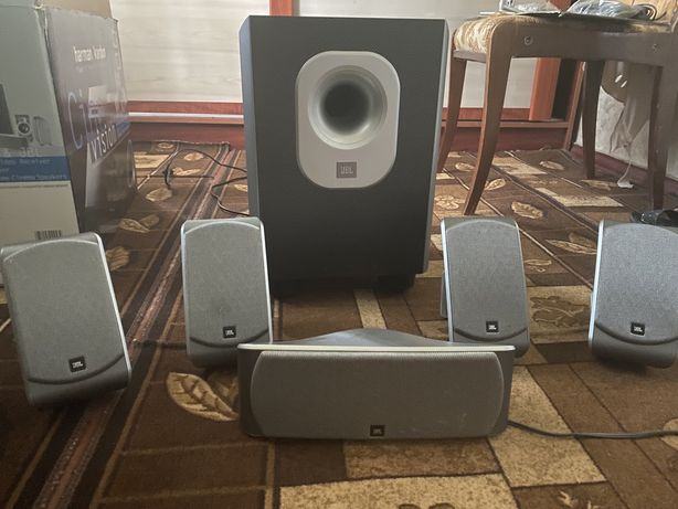 JBL SCS 140 - Speaker system - for home theatre - 5.1-channel