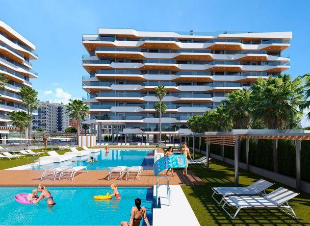 Роскошный и современный жилой комплекс рядом с пляжем Сан Хуан