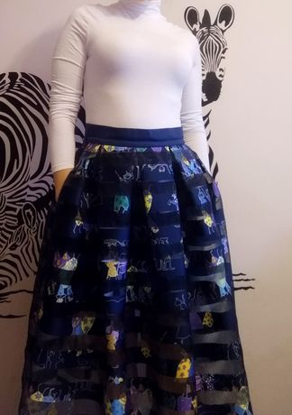 Брендовая юбка Black BerryBella