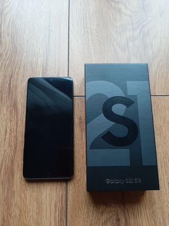 Telefon Samsung Galaxy S21+5G nowy! +case