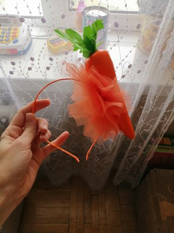 Обруч морковка и звездочка