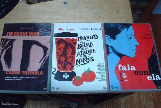 coleçao 3 filmes originais de pedro almodovar